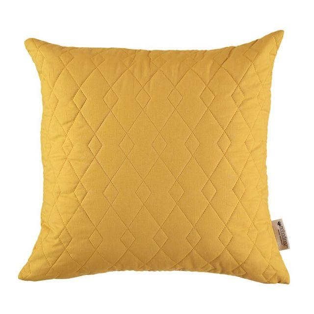 Nobodinoz CUSCINO CADAQUES giallo 44 x 44 cm