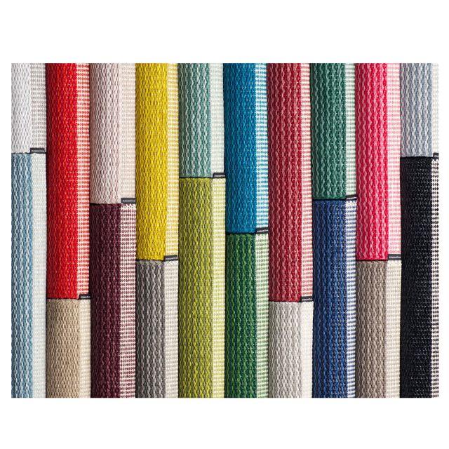 Tappeto Pvc Intrecciato : Pappelina tappeto mono petrolio cm forme e colori