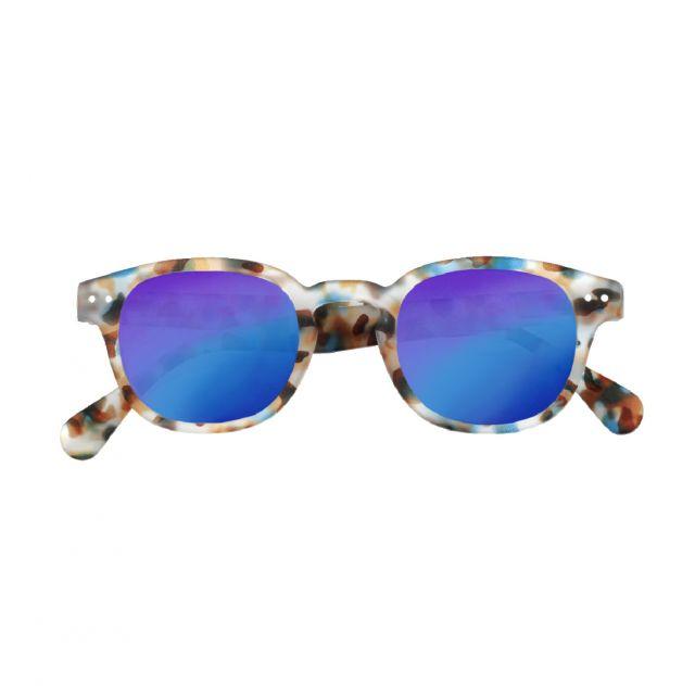 Izipizi OCCHIALI DA SOLE JUNIOR C Mirror Blue Tortoise