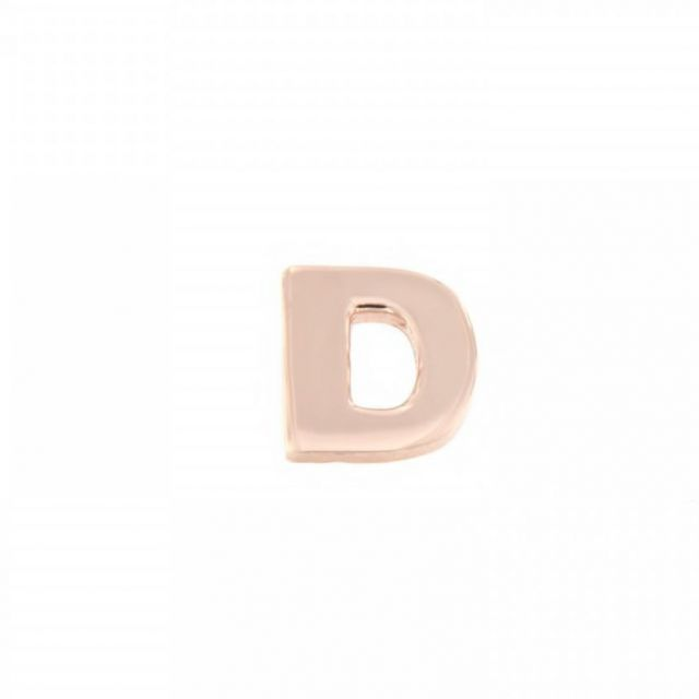 ORECCHINO A LOBO lettera D