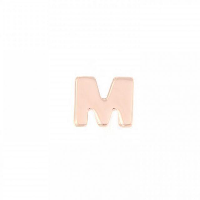 ORECCHINO A LOBO lettera M