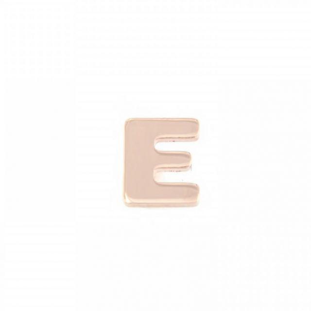 ORECCHINO A LOBO lettera E