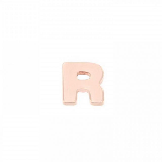 ORECCHINO A LOBO lettera R