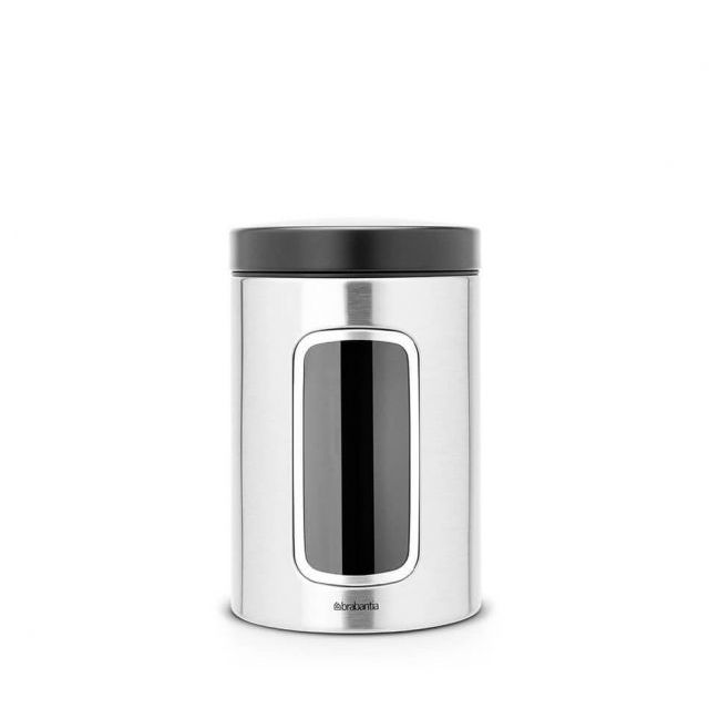brabantia BARATTOLO WINDOWS CANISTER 1.4 L
