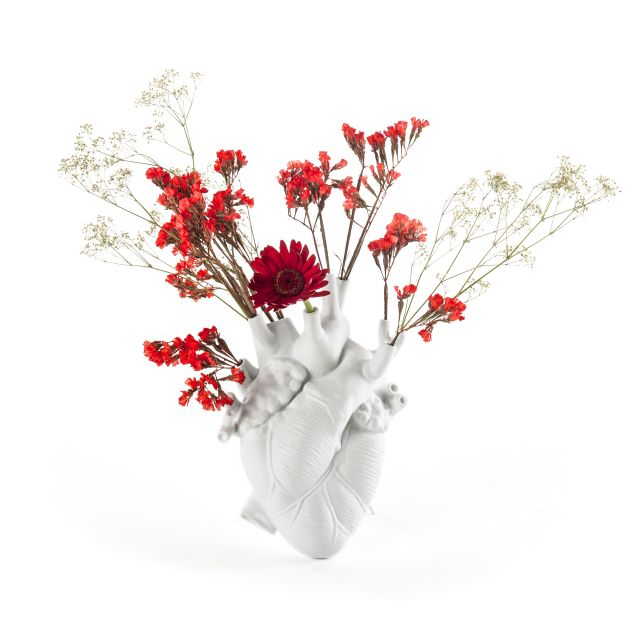 Seletti VASO IN PORCELLANA LOVE IN BLOOM