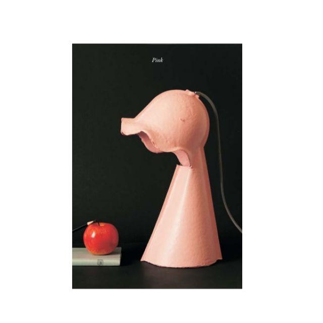 Seletti egg of columbus lampada da tavolo rosa forme e for Smart travel seletti