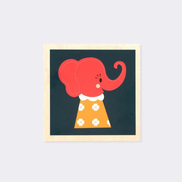 Ferm Living ELLE ELEPHANT PICTURE