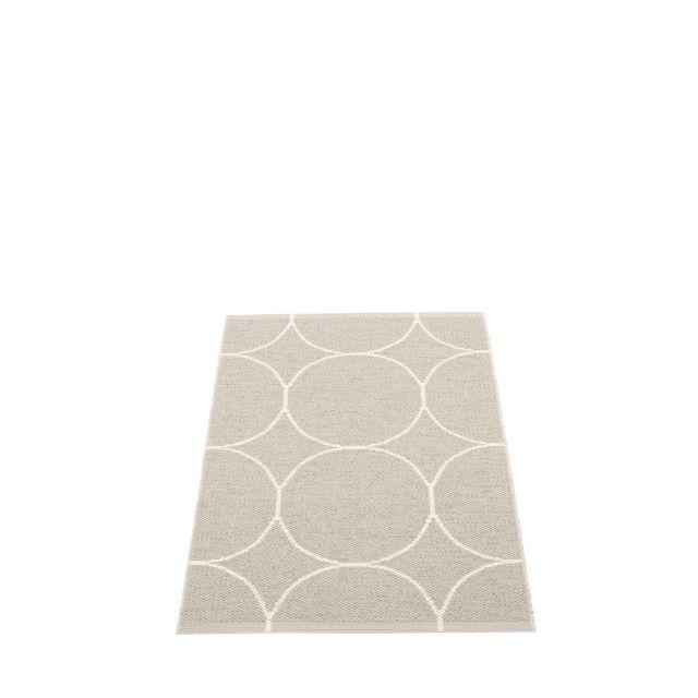 Pappelina TAPPETO IN PLASTICA BOO VANIGLIA 70 x 100 cm