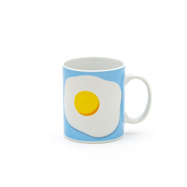 TAZZA IN PORCELLANA SELETTI STUDIO JOB - EGG