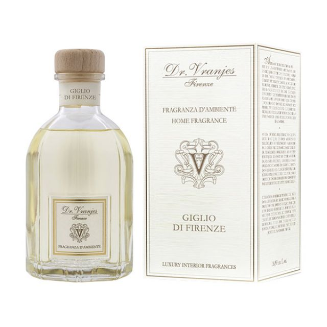 FRAGRANZA D'AMBIENTE GIGLIO DI FIRENZE 250 ml - DR. VRANJIES