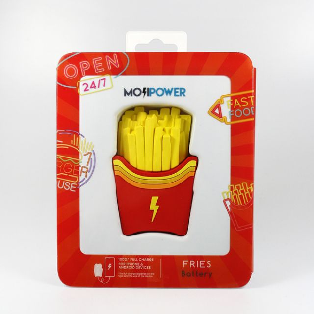 Mojipower POWER BANK FRIES