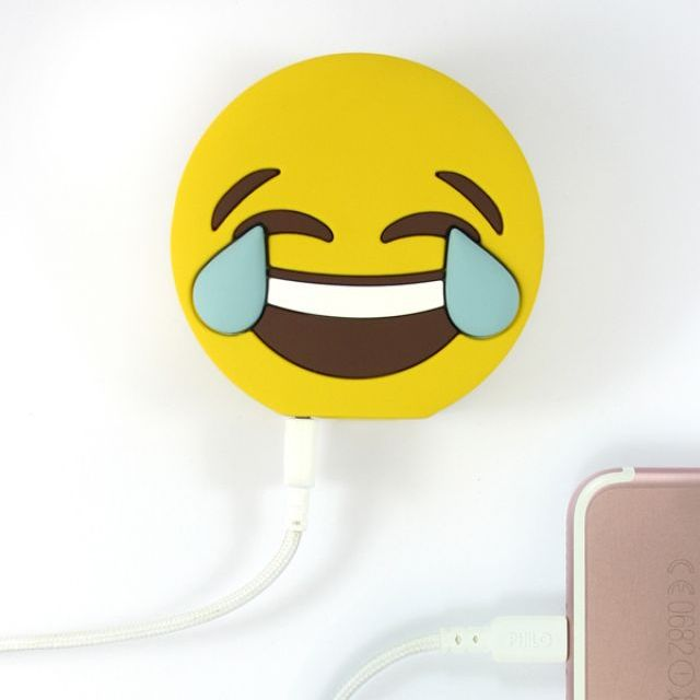 Mojipower POWER BANK LAUGH DOUBLE FACE