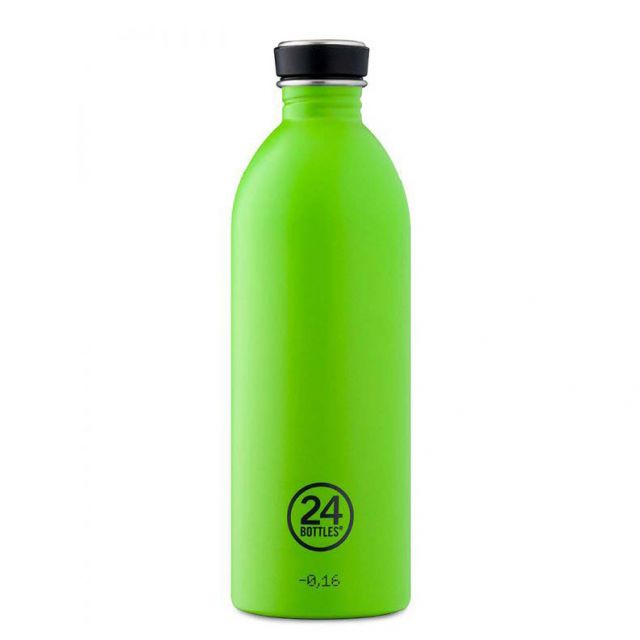 24 Bottles URBAN BOTTLE LIME GREEN 1000 ml