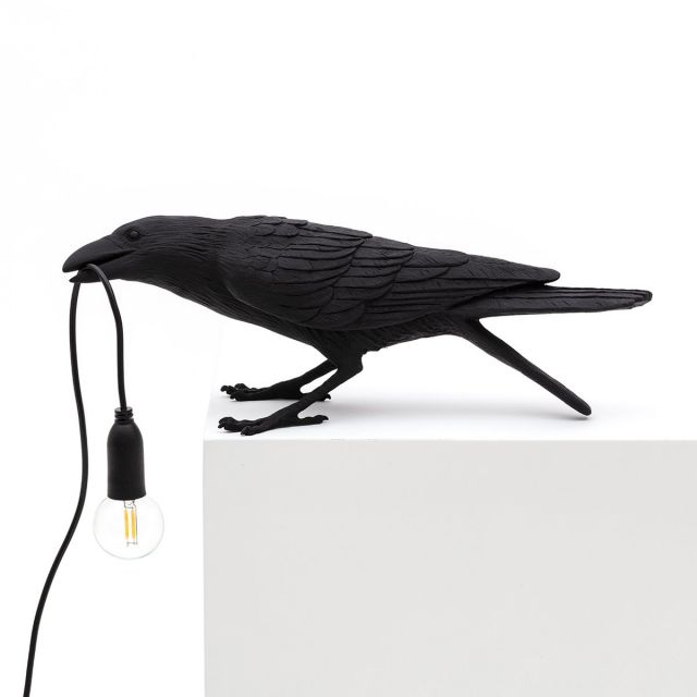 Seletti LAMPADA DA TAVOLO BIRD PLAYING