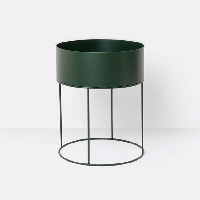 Ferm Living PLANT BOX DARK GREEN