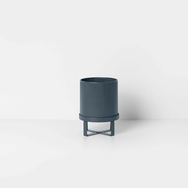 Ferm Living VASO BAU POT DARK BLUE SMALL