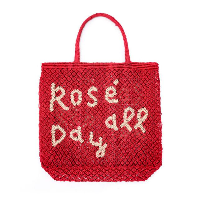The Jacksons BORSA in TELA DI JUTA - ROSE' ALL DAY