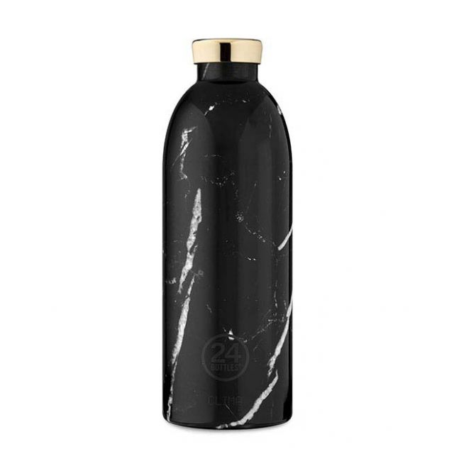 24 Bottles CLIMA BOTTLE BLACK MARBLE 850 ml