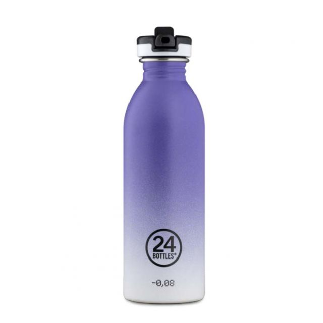 24 Bottles URBAN BOTTLE PURPLE RHYTHM 500 ml