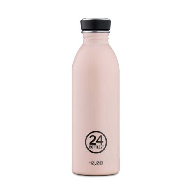 24 Bottles URBAN BOTTLE DUSTY PINK 500 ml