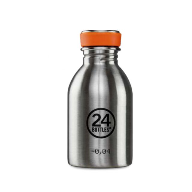 24 Bottles URBAN BOTTLE STEEL 250 ml