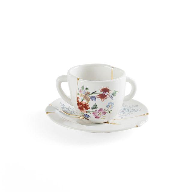 Seletti KINTSUGI-1 Tazzina Caffè in porcellana