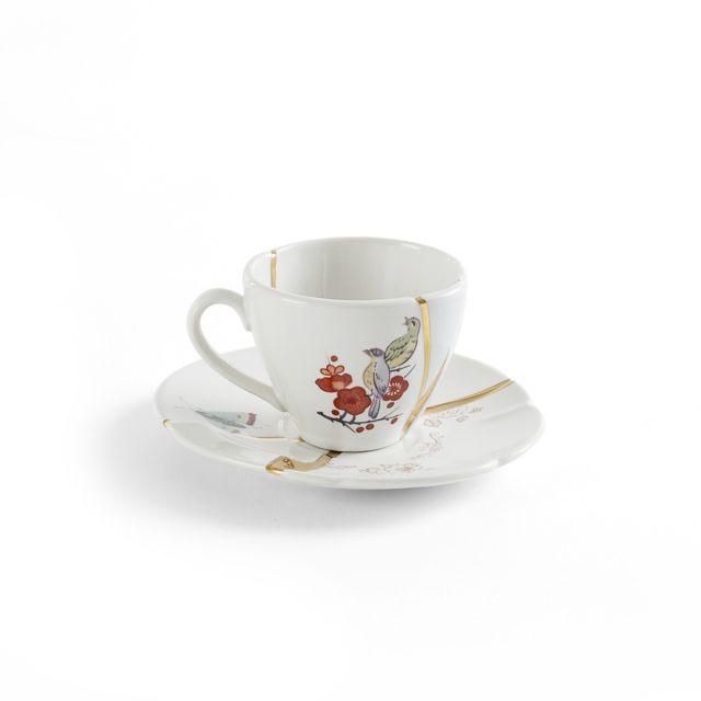 Seletti KINTSUGI-2 Tazzina Caffè in porcellana
