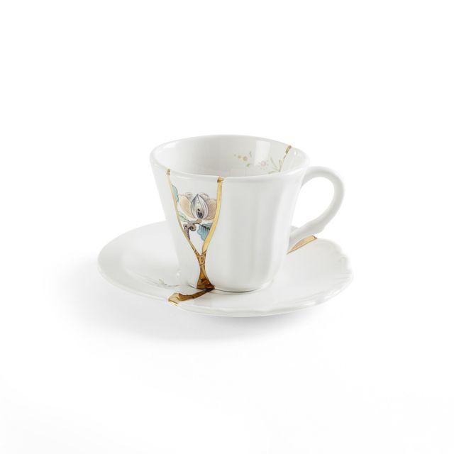 Seletti KINTSUGI-3 Tazzina Caffè in porcellana