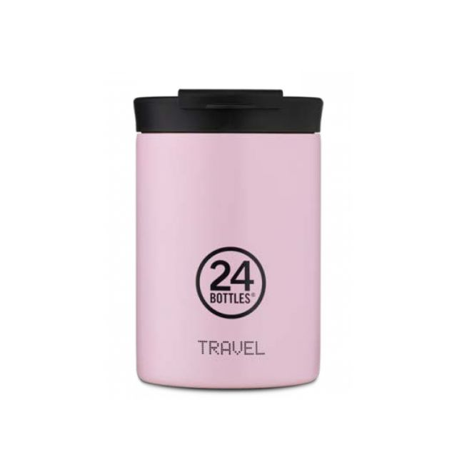 24 Bottles TRAVEL TUMBLER CANDY PINK 350 ml