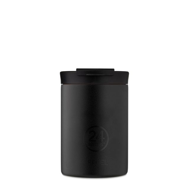 TRAVEL TUMBLER TUXEDO BLACK 350 ml