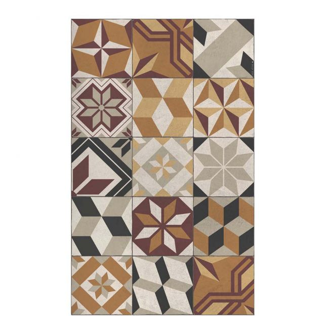 TAPPETTO IN VINILE ECLECTIC GOTHIC EG2 60x 80 cm