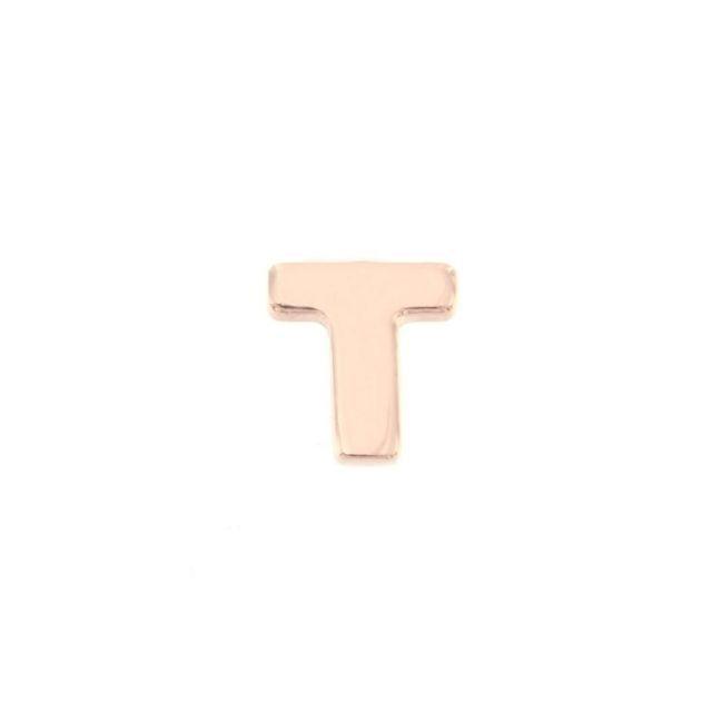 ORECCHINO A LOBO lettera T