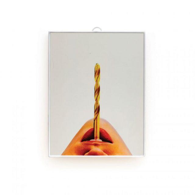 SPECCHIO PICCOLO DRILL 17.5 x 23 cm