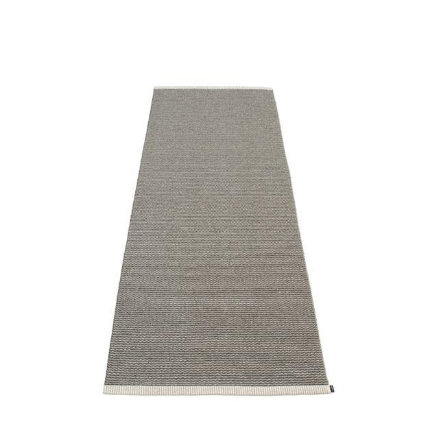 TAPPETO MONO CHARCOAL - WARM GREY 70 x 200 cm