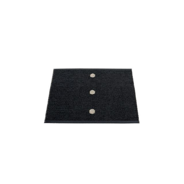 TAPPETO PEG BLACK - LINEN 70 x 60 cm