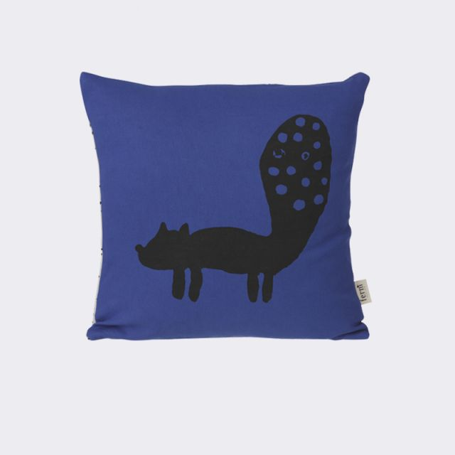 Ferm Living CUSCINO FOX Blue 30 x 30 cm