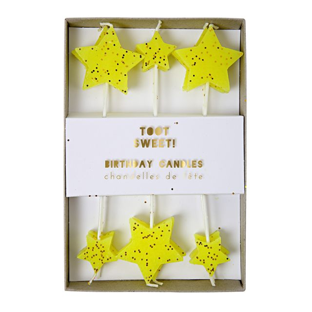 Meri Meri TOOT SWEET Candeline Set 12 pz
