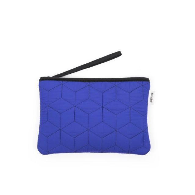 Pijama POCKET S Quilted Blue