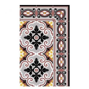 Beija Flor TAPPETTO IN VINILE JAFFA 70 x 180 cm