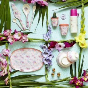 Rice BICCHIERE medio fantasia floreale