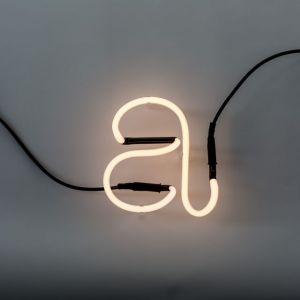 Seletti LETTERA LUMINOSA DA PARETE Neon Art lettera a