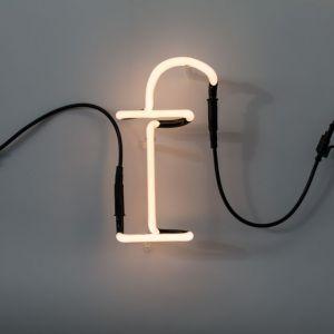 Seletti LETTERA LUMINOSA DA PARETE Neon Art lettera f