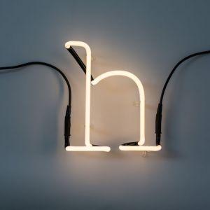 Seletti LETTERA LUMINOSA DA PARETE Neon Art lettera h