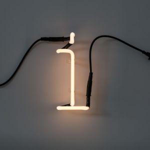 Seletti LETTERA LUMINOSA DA PARETE Neon Art lettera i