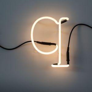 Seletti LETTERA LUMINOSA DA PARETE Neon Art lettera q