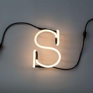Seletti LETTERA LUMINOSA DA PARETE Neon Art lettera s