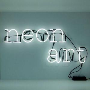 LETTERA LUMINOSA DA PARETE Neon Art lettera t