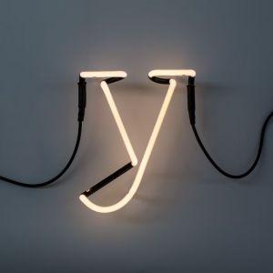 Seletti LETTERA LUMINOSA DA PARETE Neon Art lettera y