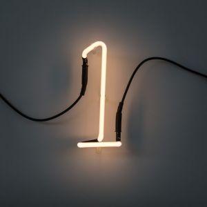 Seletti NUMERO LUMINOSO DA PARETE Neon Art - 1