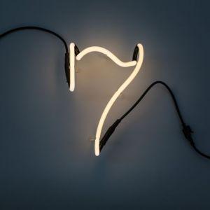 Seletti NUMERO LUMINOSO DA PARETE Neon Art - 7